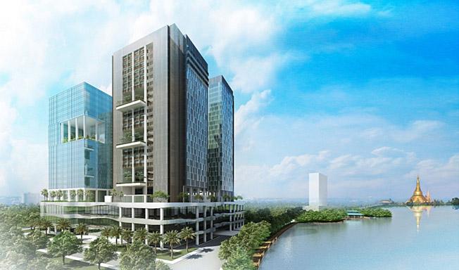 Kan Tharyar Consortium Tower Phase I Residence Cqhp